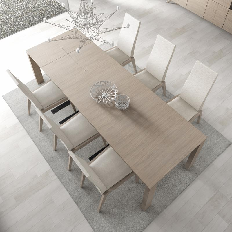 Mesas comedor a medida mesa de comedor redonda cristal for Banco para mesa de comedor