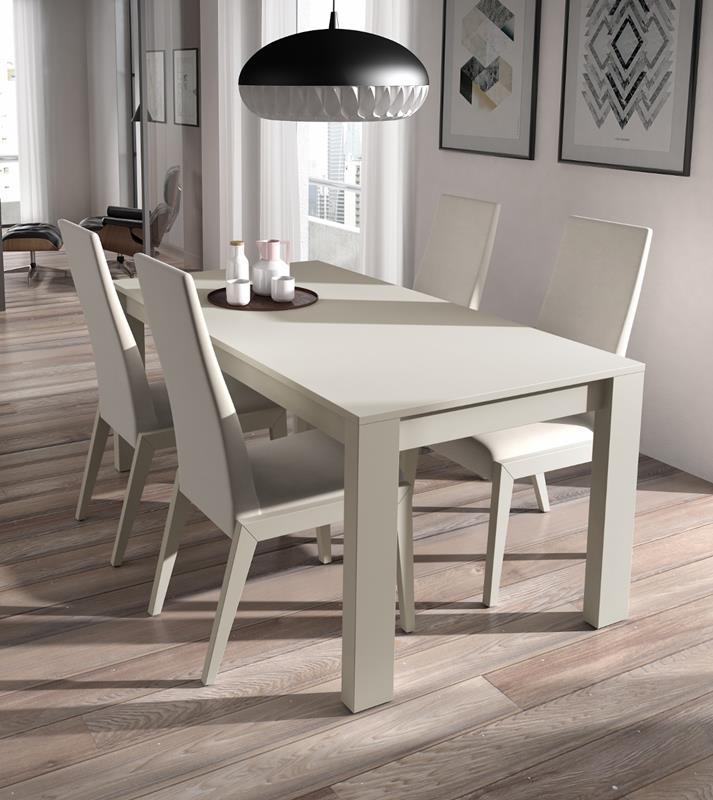 Mesa de comedor a medida awesome aparador avenida fabricado en madera de roble with mesa de - Medidas mesa de comedor ...