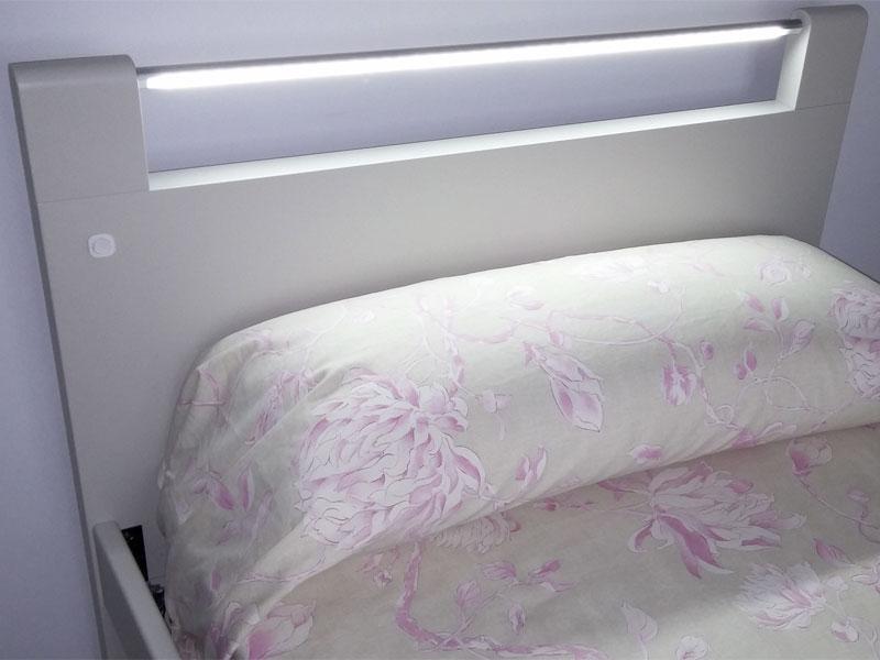 Proyectos muebles a medida proyectos de decoracion - Cabeceros con luz ...