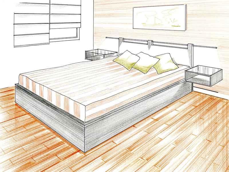 Proyectos muebles a medida proyectos de decoracion - Medidas cama doble ...