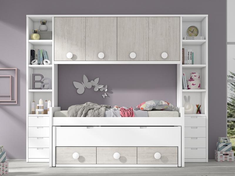 Dormitorios juveniles dormitorio juvenil habitaciones for Habitaciones juveniles compactas