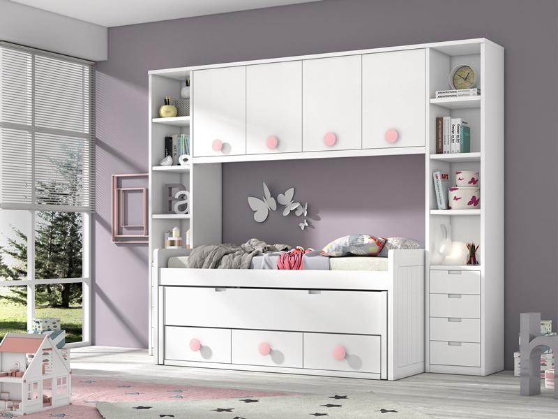 Dormitorios juveniles dormitorio juvenil habitaciones for Habitaciones compactas