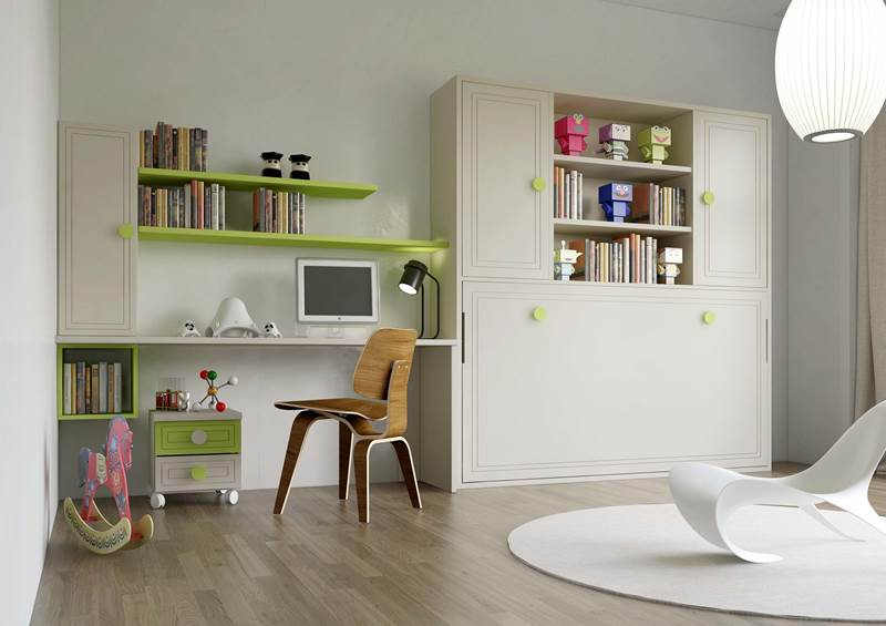 Dormitorios juveniles dormitorio juvenil habitaciones for Dormitorios juveniles a medida