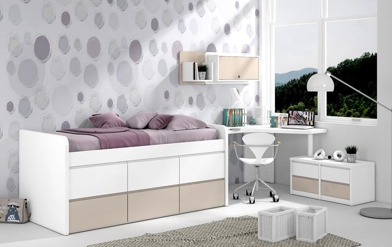 Dormitorios juveniles dormitorio juvenil habitaciones for Cuartos completos