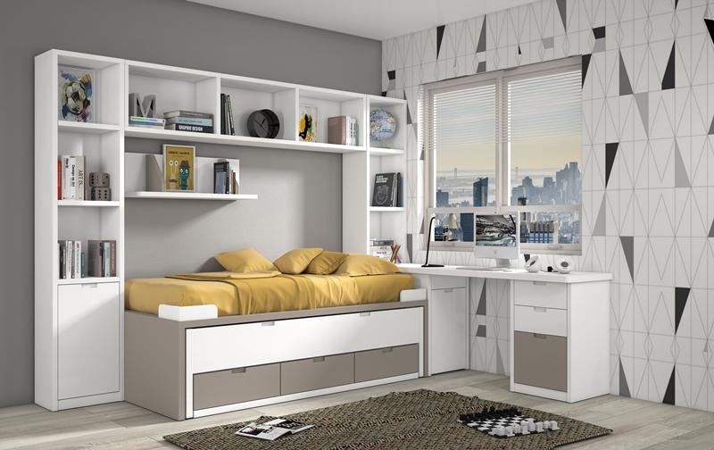 Dormitorios juveniles dormitorio juvenil habitaciones for Dormitorios completos