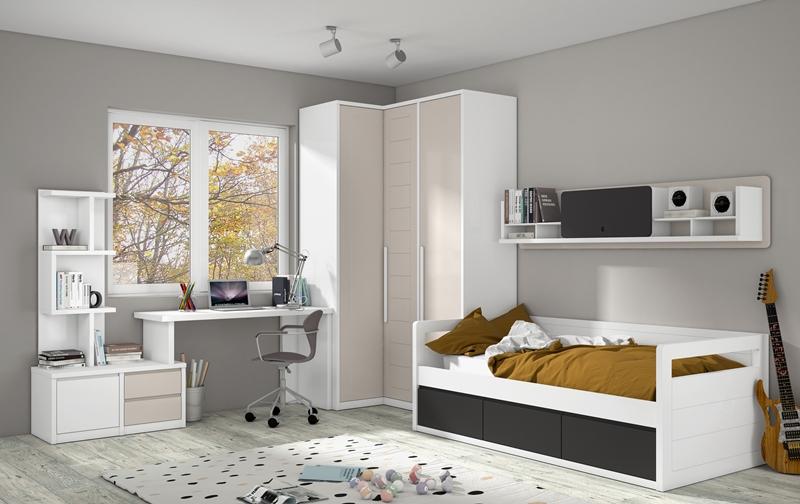 mueble juvenil dormitorios completos