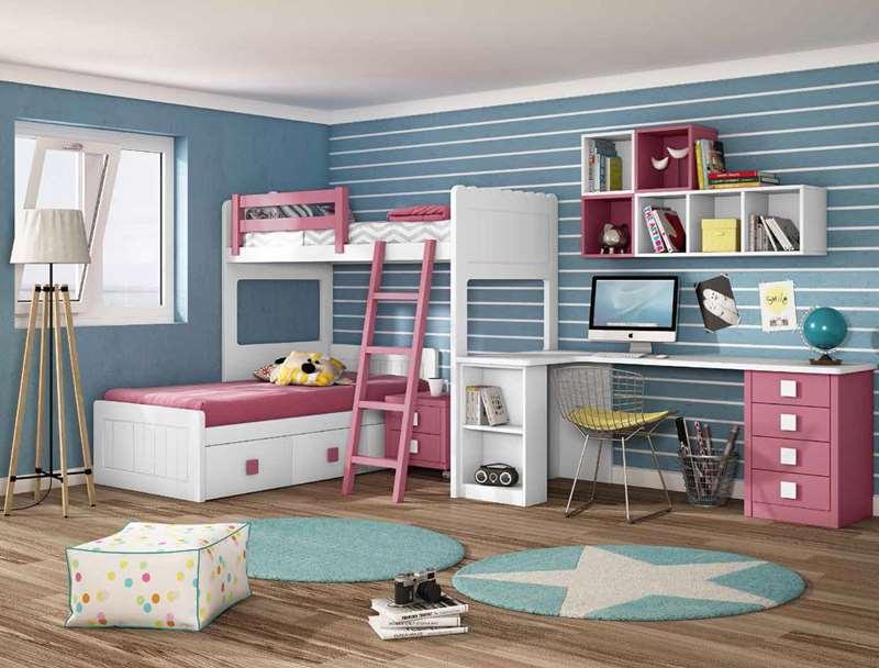 Dormitorios juveniles dormitorio juvenil habitaciones - Dormitorios juveniles a medida ...