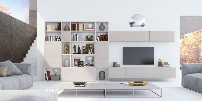 Salones a medida muebles para el sal n muebles de sal n for Mueble salon logan 004