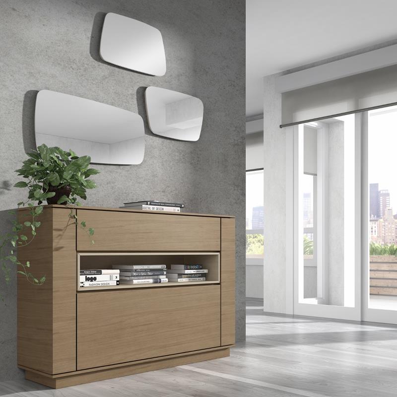 Muebles recibidor a medida 20170814161200 - Muebles de madera a medida ...